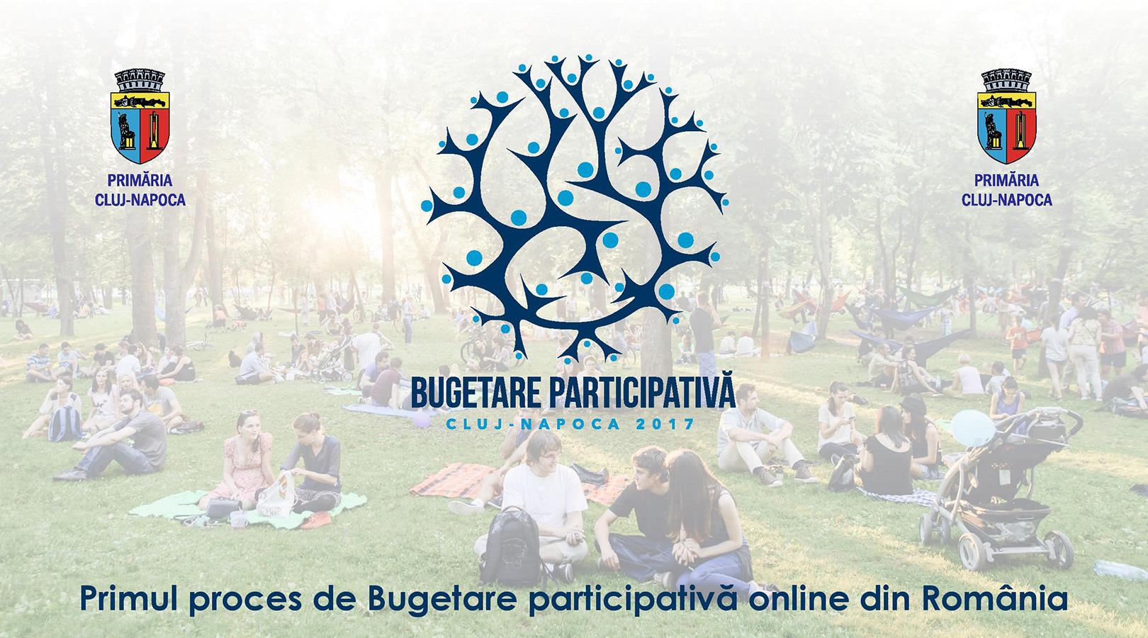 Primăria Municipiului Cluj-Napoca lansează primul proces de bugetare participativă online din România