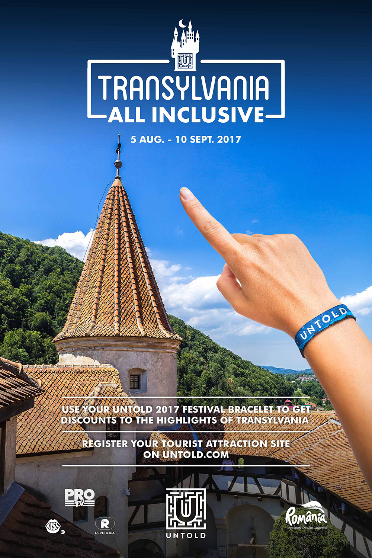 UNTOLD continuă campania Transilvania All Inclusive