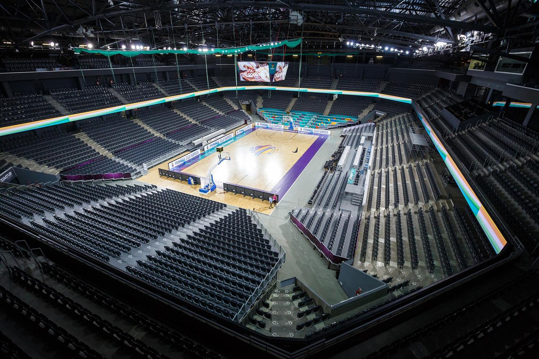 Sala Polivalentă din Cluj-Napoca, pregătită pentru FIBA EuroBasket (2017)