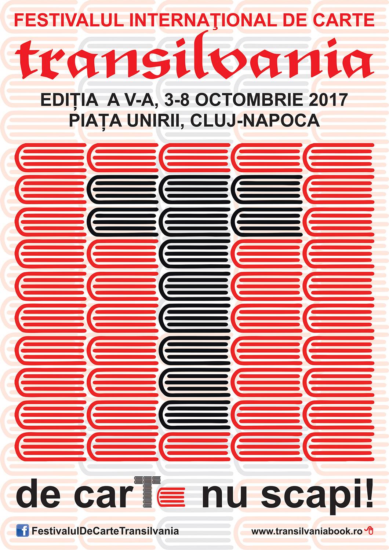 Sandrone Dazieri, invitat de onoare la Festivalul Internațional de Carte Transilvania