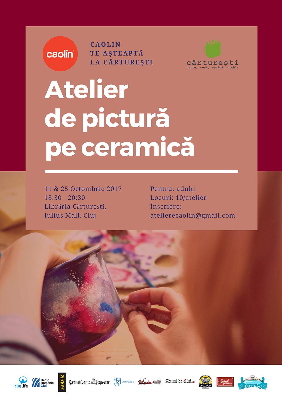 Atelier de pictură pe ceramică