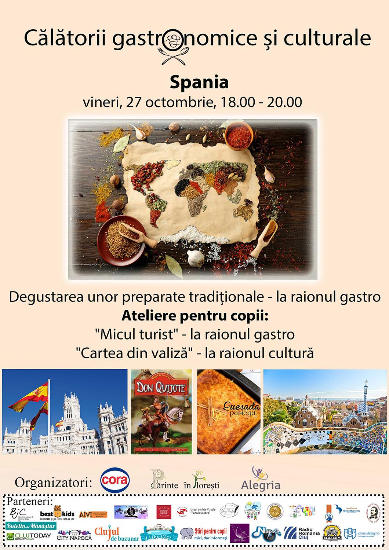 Călătorii gastronomice și culturale - Spania