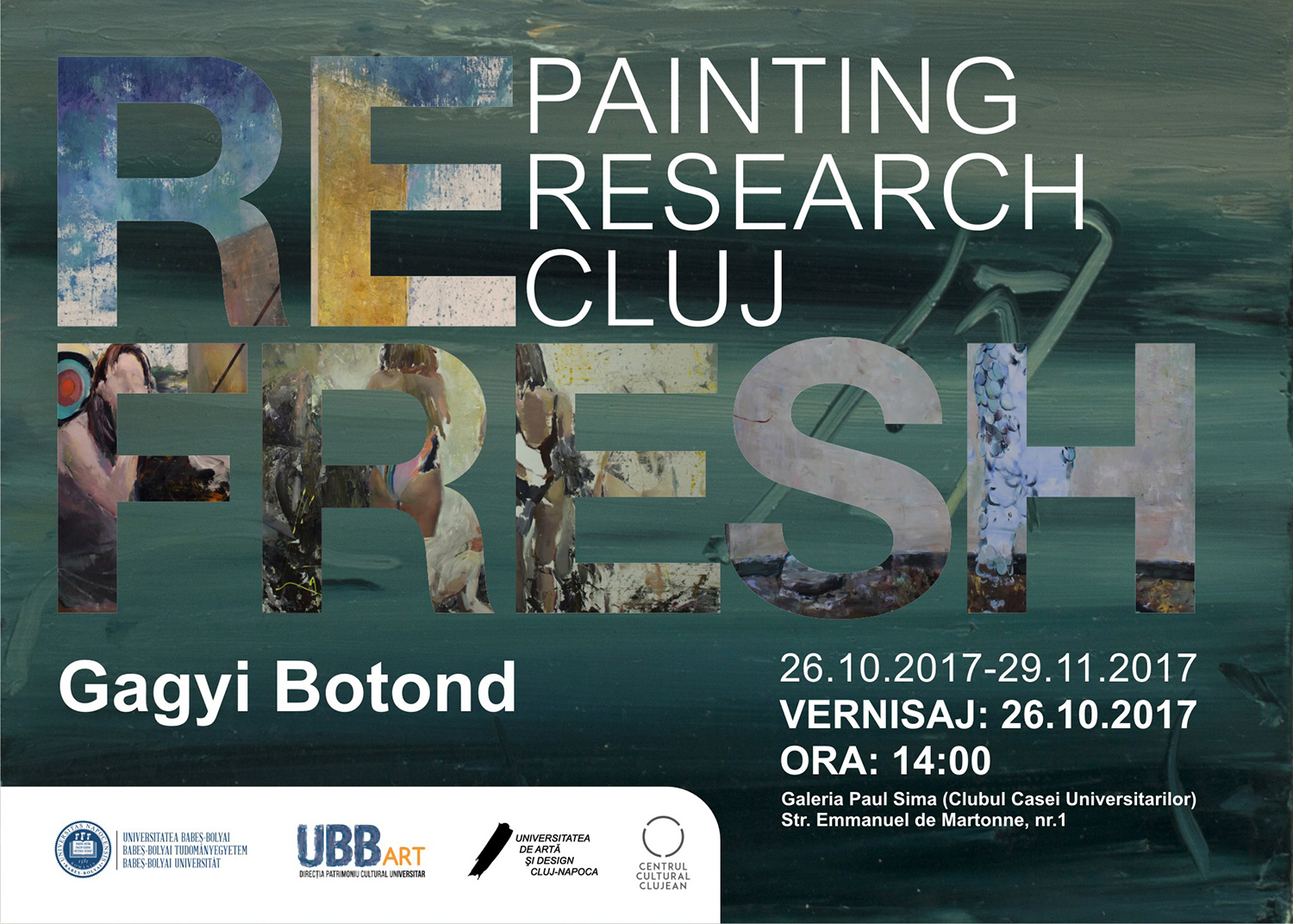 Refresh - Painting / Research / Cluj