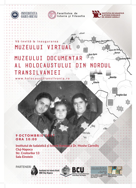 Universitatea Babeș-Bolyai inaugurează Muzeul Documentar și Muzeul Virtual al  Holocaustului din Nordul Transilvaniei