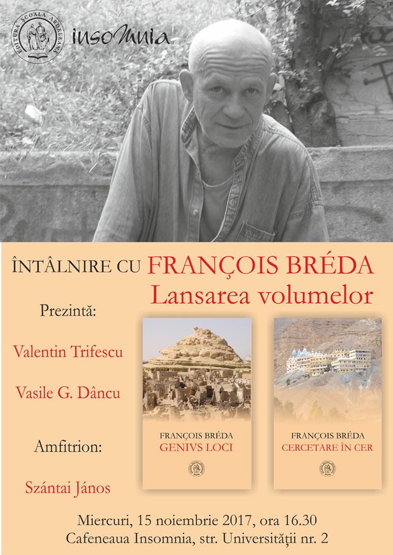 Întâlnire cu François Bréda