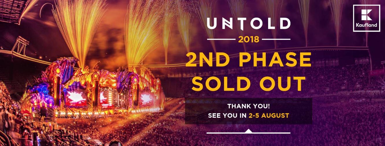 Peste 28.000 de abonamente UNTOLD (2018) vândute până în acest moment
