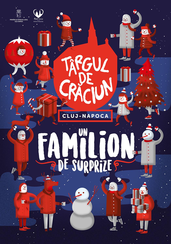 Un familion de surprize pregătite pentru Târgul de Crăciun din Cluj