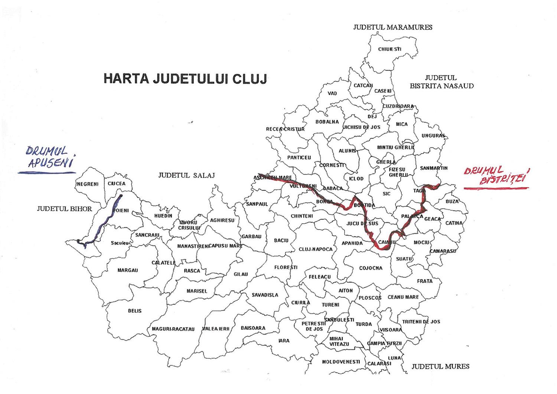80 de milioane de euro, cea mai mare finanțare nerambursabilă europeană obținută până acum de Consiliul Județean Cluj pentru reabilitarea unor drumuri județene