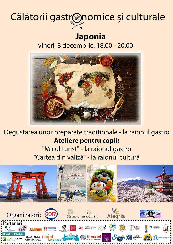 Călătorii gastronomice și culturale – Japonia