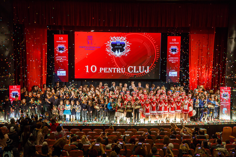 """Cea de-a noua ediție a """"Galei 10 pentru Cluj - Juniorii Clujului - Speranțele Cetății"""" și- a anunțat câștigătorii"""