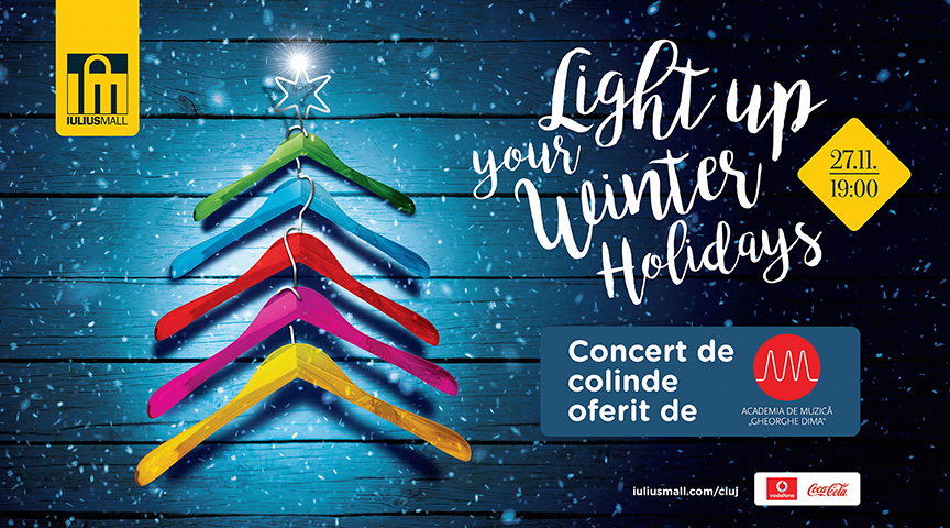 Se dă startul sărbătorilor de iarnă la Iulius Mall Cluj