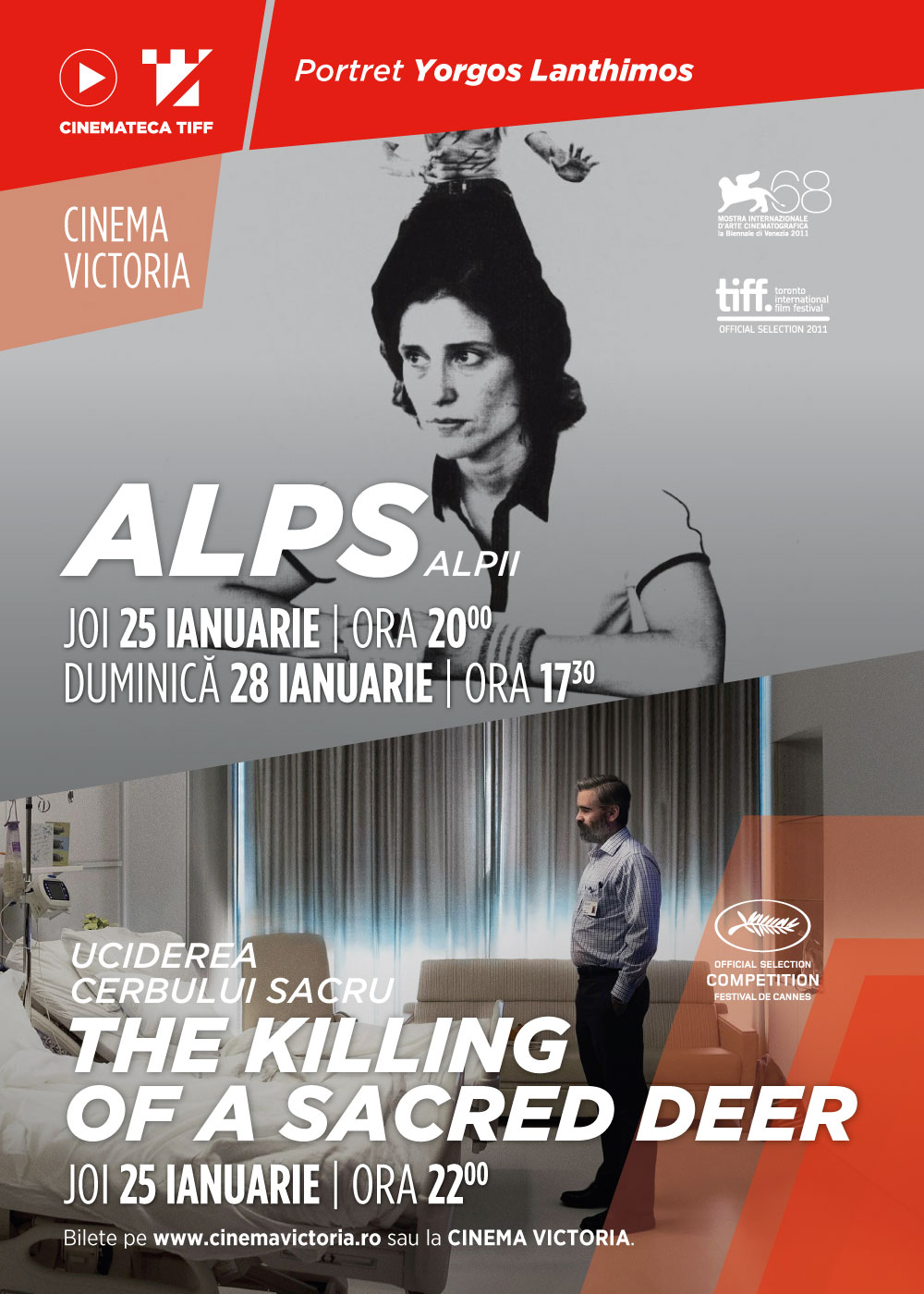 Alps / The Killing of a Sacred Deer