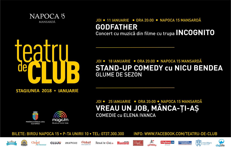 Stand-up comedy cu Nicu Bendea