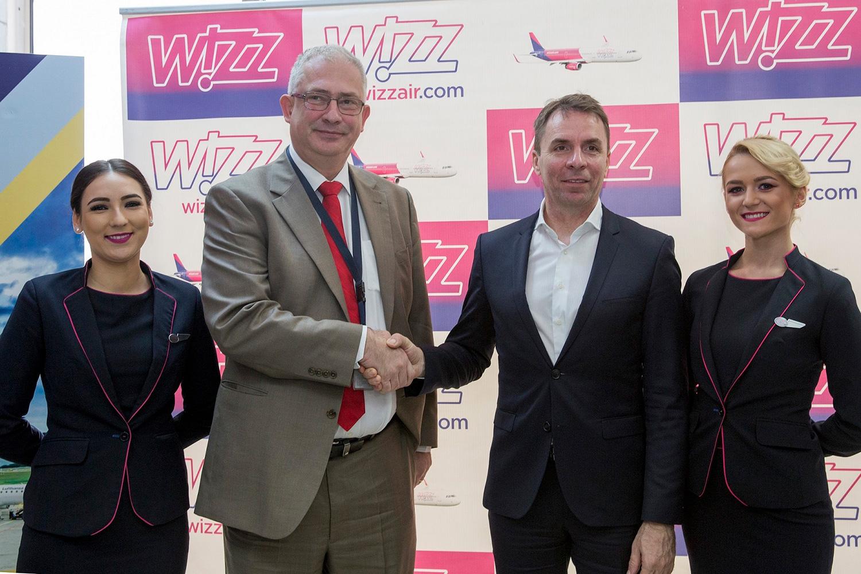 Wizz Air încheie 2017 cu un record de pasageri și plănuiește continuarea extinderii în 2018