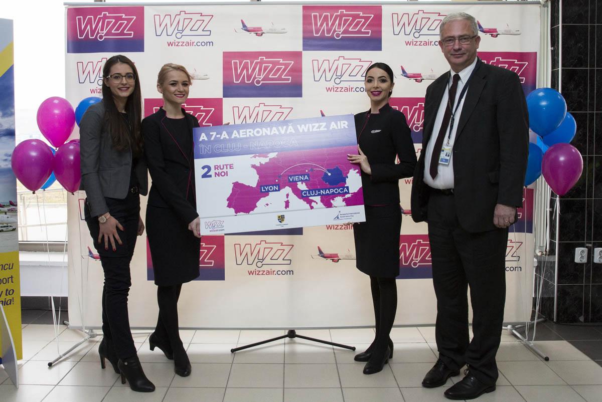 Wizz Air anunță o nouă expansiune la Cluj