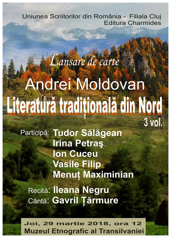 Andrei Moldovan – Literatură tradițională din Nord