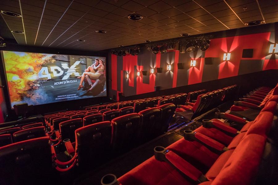 Zece ani de Cinema City în Cluj-Napoca aduc cadou oraşului o sală 4DX