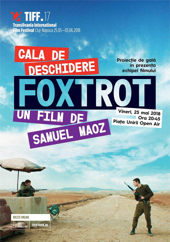 Foxtrot deschide TIFF (2018) în prezența regizorului Samuel Maoz