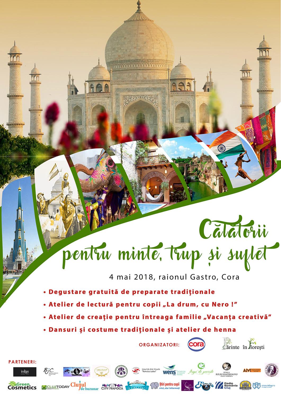 Călătorii pentru minte, trup și suflet - India