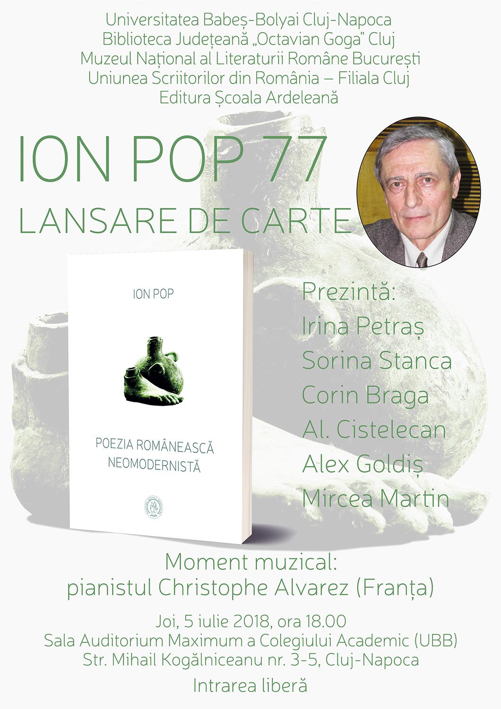 Ion Pop - Poezia românească neomodernistă