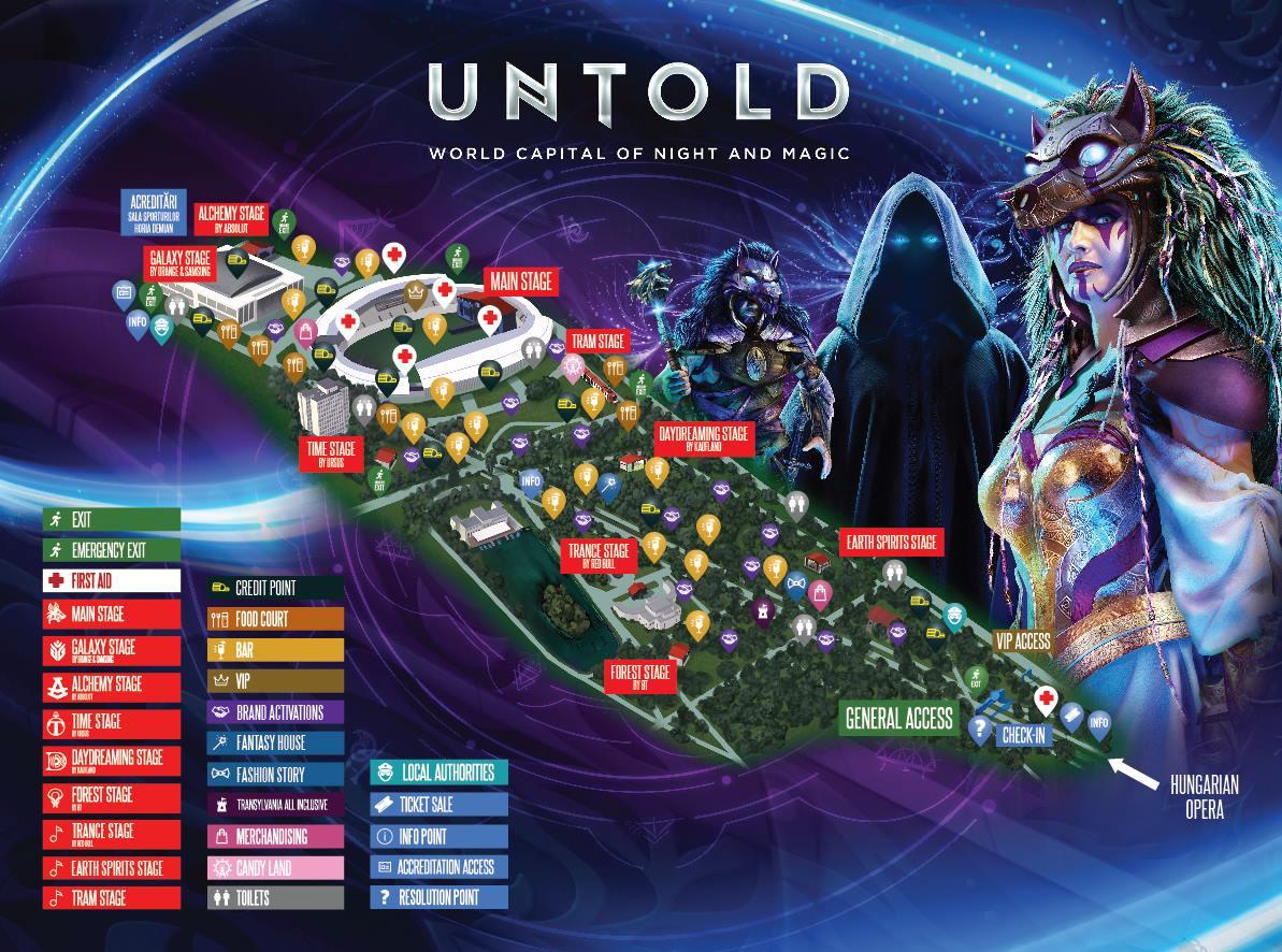 Sistem integrat de acces și plată la festivalul UNTOLD