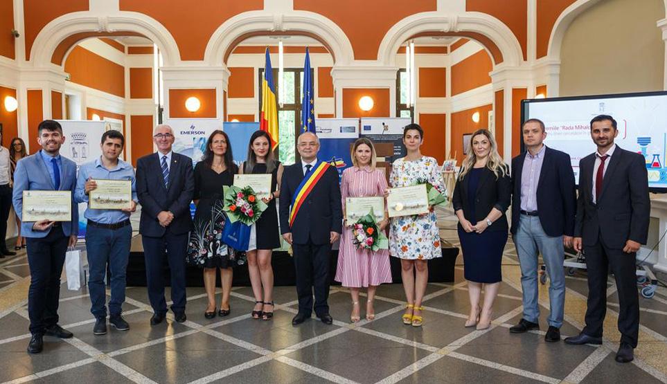 Câștigătorii concursului Premiile Rada Mihalcea pentru Tineri Cercetători în Știință și Inginerie, ediția a IV-a