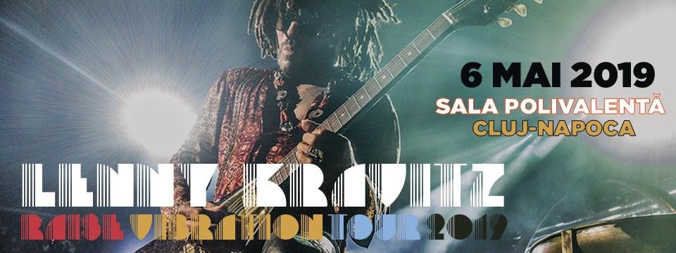 S-au pus în vânzare biletele pentru concertul  Lenny Kravitz din Cluj-Napoca