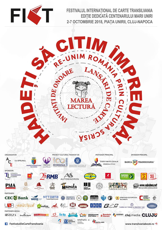 Festivalul Internațional de Carte Transilvania (FICT) (2018)