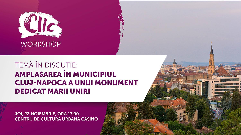 Amplasarea în municipiul Cluj-Napoca a unui monument dedicat Marii Unirii
