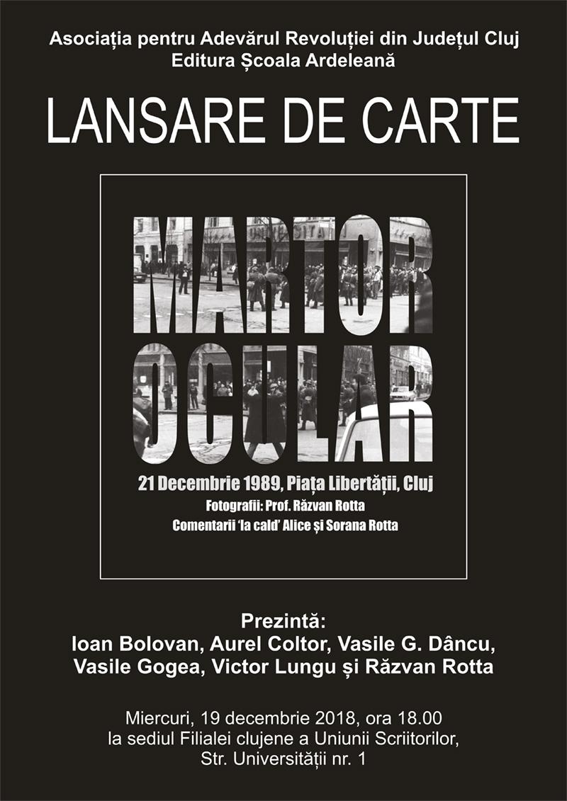 Martor ocular. 21 Decembrie 1989, Piața Libertății, Cluj