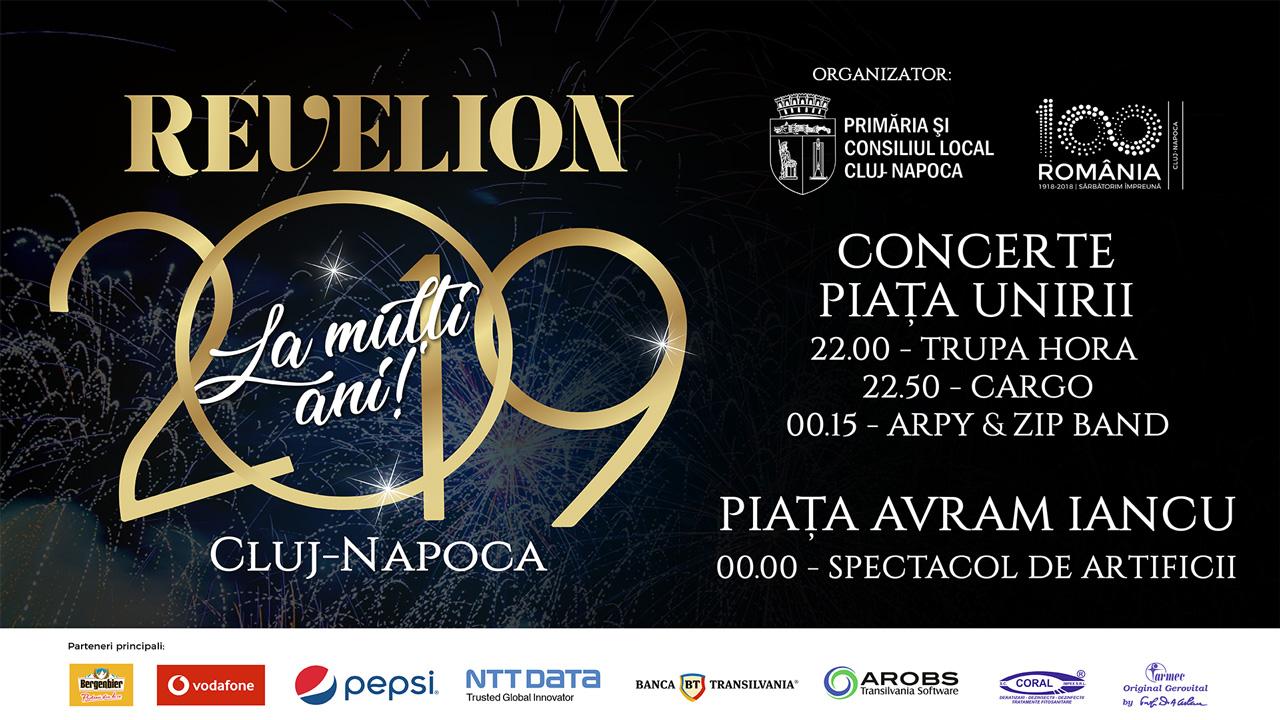 Spectacol de Revelion în atmosferă de poveste la Cluj-Napoca