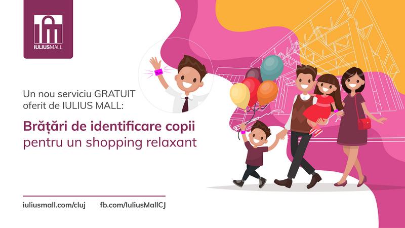 Un nou serviciu gratuit pentru clienții Iulius Mall Cluj