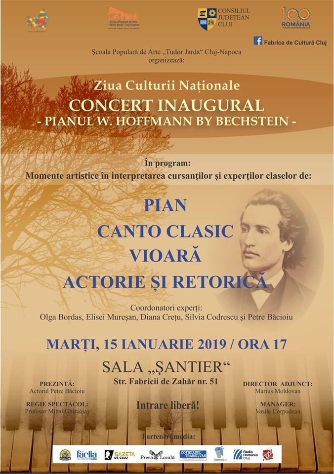 Pianul W. Hoffmann by Bechstein