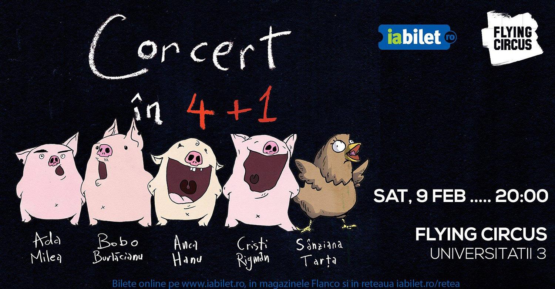 Concert în 4+1