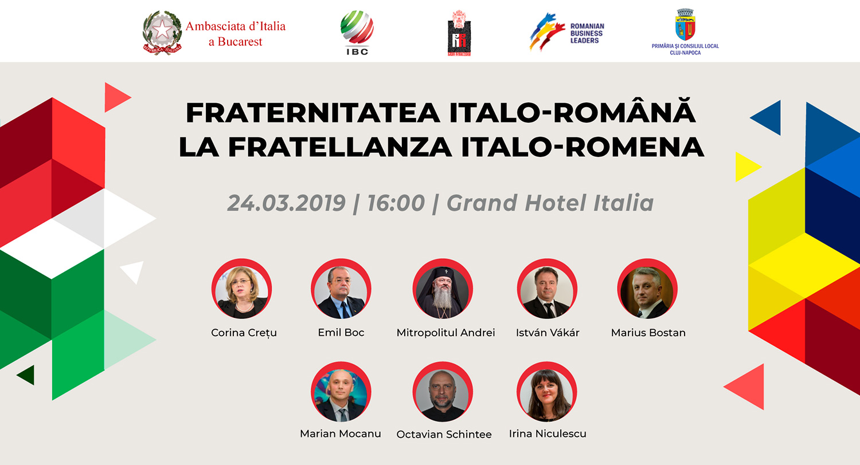 Fraternitatea italo-română – La fratellanza italo-romena