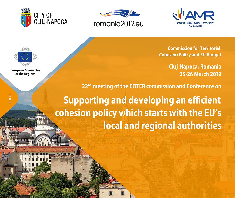 Susținerea și dezvoltarea unei politici de coeziune eficiente pornind de la autoritățile locale și regionale din Uniunea Europeană