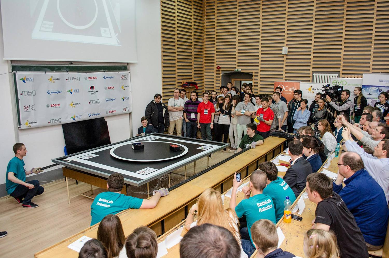 BattleLab Robotica – concurs internațional de Sumo Robotic