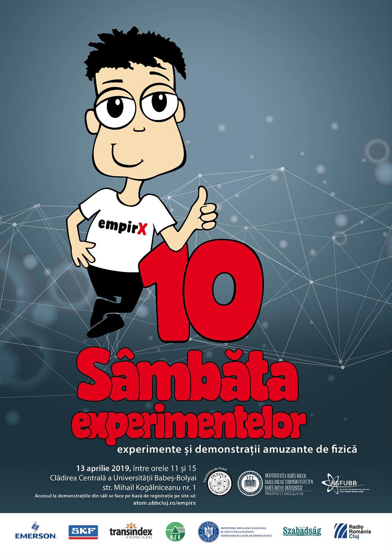 Experimente și demonstrații amuzante de fizică organizate la cea de-a X-a ediție a  evenimentului Sâmbăta Experimentelor