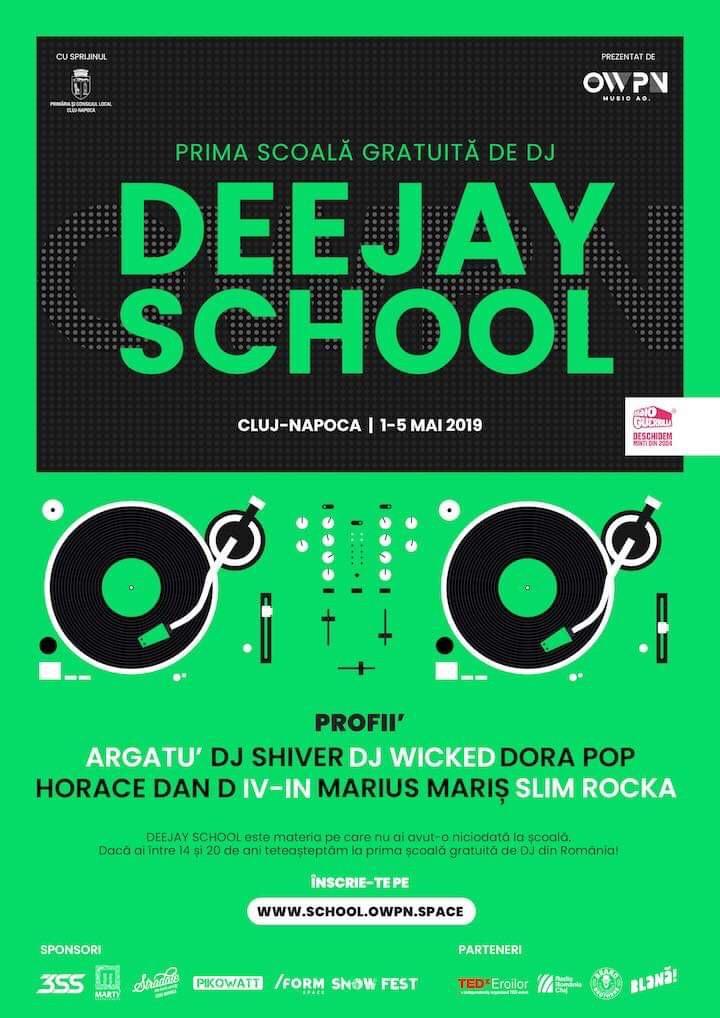 Prima școală gratuită de DJ din România