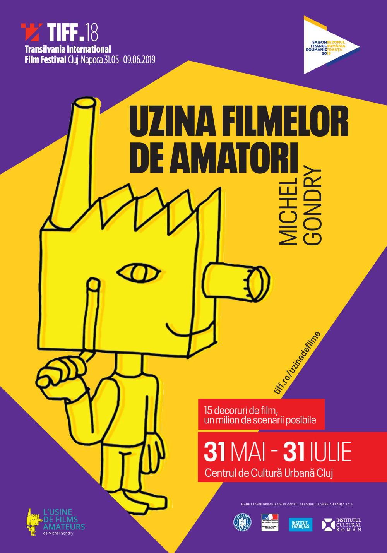 Uzina Filmelor de Amatori, creată de Michel Gondry, la TIFF (2019)