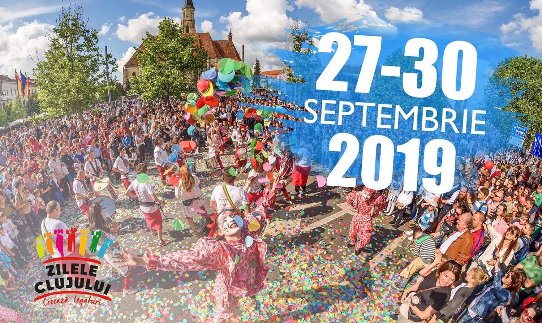 Zilele Clujului vor avea loc în perioada 27-30 Septembrie 2019