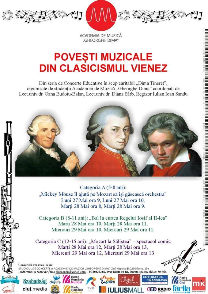 Povești muzicale din clasicismul vienez