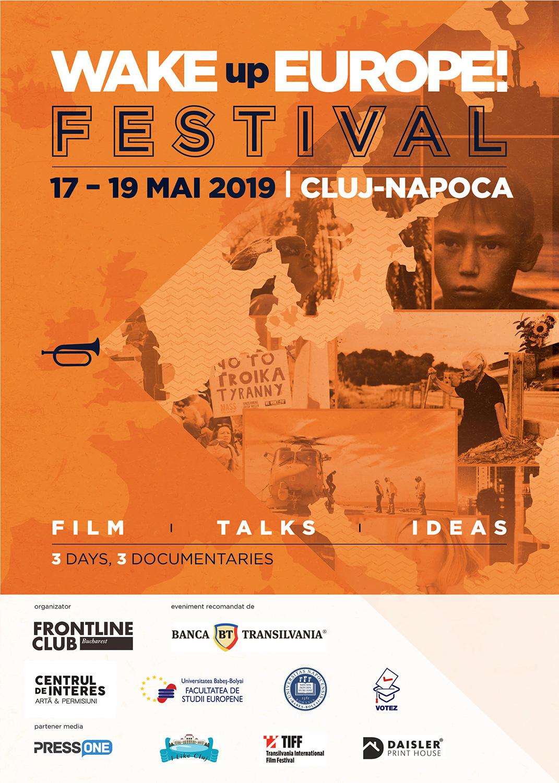 Wake Up Europe Fest transformă Clujul  în capitala deșteptării naționale