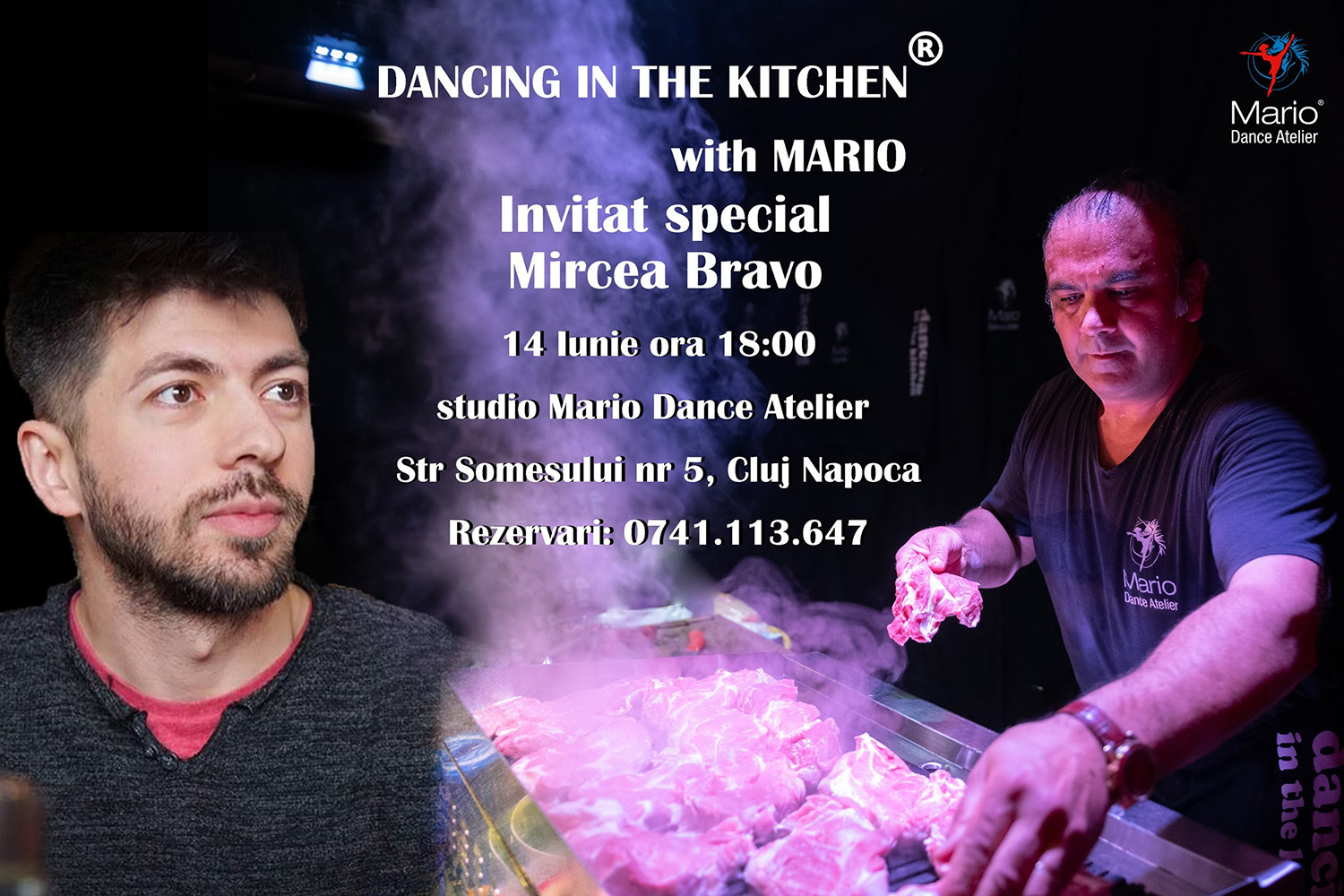 Dancing in the Kitchen with Mario