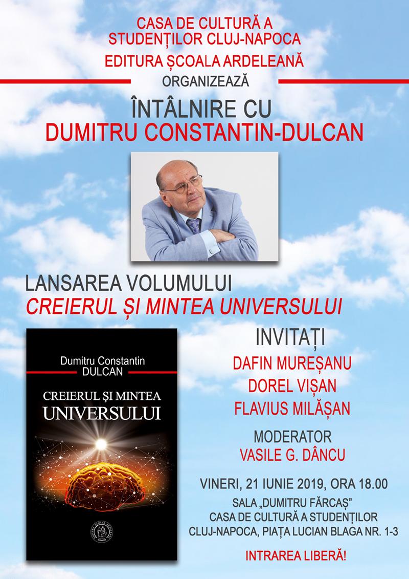 Întâlnire cu Dumitru Constantin Dulcan