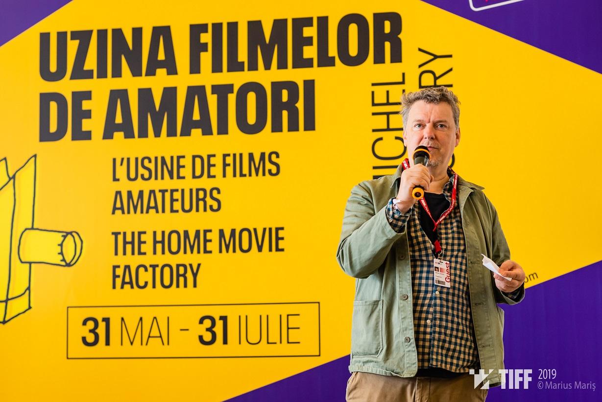 Michel Gondry – gazda vizitatorilor Uzinei Filmelor de Amatori