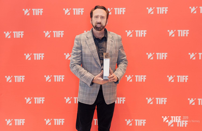 Nicolas Cage, premiat la TIFF 2019