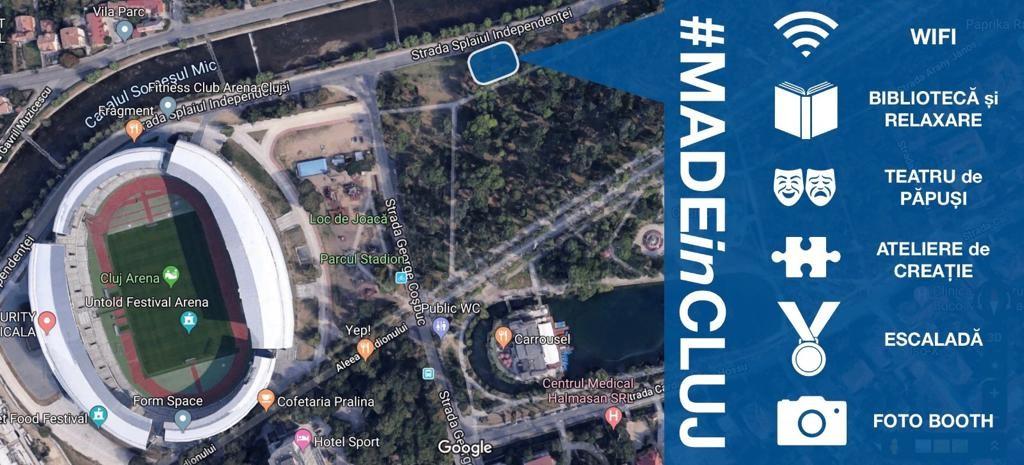 Consiliul Județean Cluj te invită la standul propriu din cadrul festivalului UNTOLD (2019)