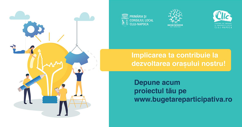 Punctul de informare pentru Bugetare participativă Cluj-Napoca (2019) se mută în sediul Primăriei Municipiului Cluj-Napoca