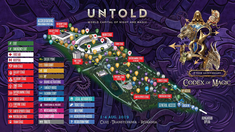 UNTOLD (2019) va avea cea mai impresionantă producție de festival din Europa